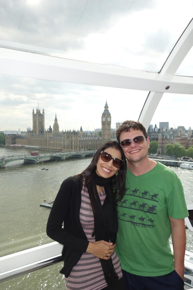 London Eye e Big Ben
