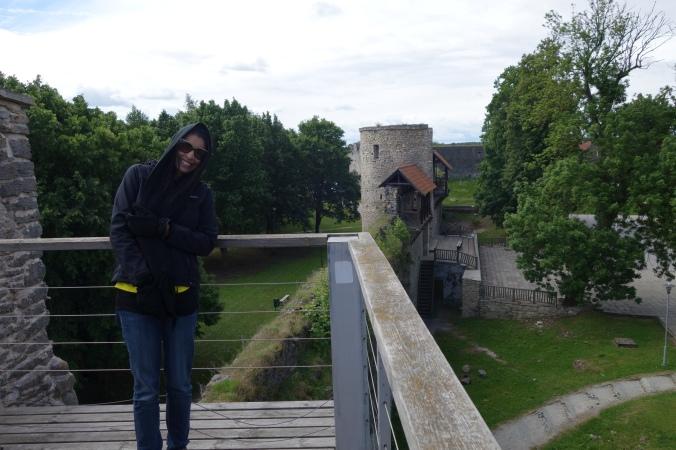 Castelo em Haapsalu ( notem o verão aqui rs)