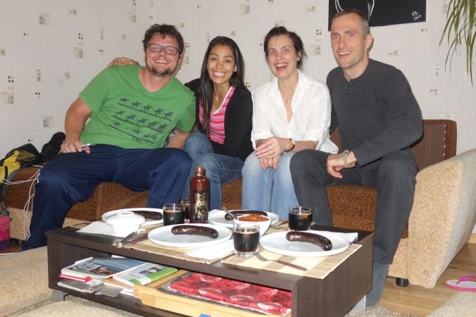 E por fim, Dada, Mi , Kity ( namorada do Alex, muito querida!) e o Alex!